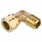 Parker 169CA-8-8 Compress-Align Male 90° Swivel Elbow 1/2 Tube OD X 1/2 NPTF Brass