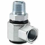 Parker S2102-8-8 Pressure Balanced Swivel 90° Elbow 1/2-14 NPTF Steel