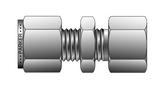Parker 2FBC2N-B-C3 Compression Female Bulkhead Connector A-LOK 1/8 Tube X 1/8 NPT Brass