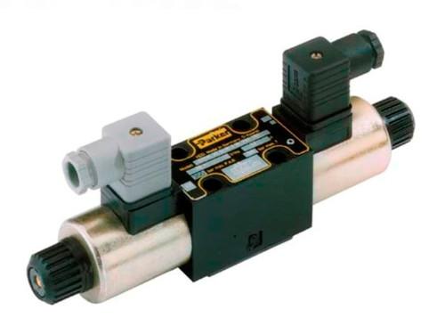 Parker D1VW020DNJDLJ5 Directional Control Valve Double Solenoid 2 Position Detent 17 GPM NFPA D03 5000 PSI