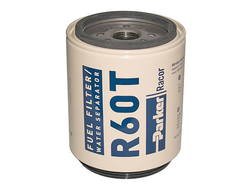 Racor R60T Aquabloc® Diesel Replacement Spin-on Filter Element 10 Micron