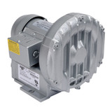 Gast R1102K-01 Regenair® Regenerative Blower 1/8 HP 27 CFM 28.5 IN-H2O (press) 26.5 IN-H2O (vac)