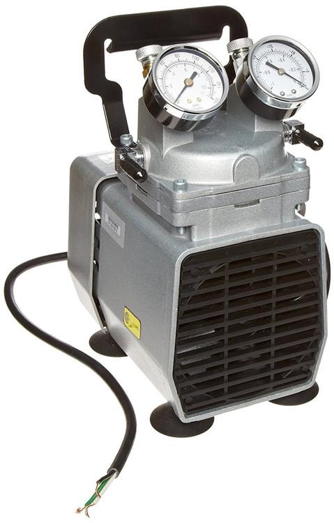 Gast DOA-P504-BN Diaphragm Air Compressor / Vacuum Pump .33 HP 1.55 CFM-50HZ 1.90 CFM-60HZ 25.5 IN-HG
