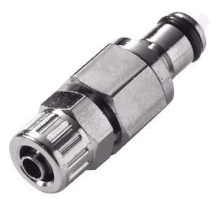 Colder MCD2004 Valved Coupling Insert 1/4 PTF 250 PSI Chrome-plated Brass