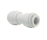 John Guest PP0412W Equal Straight Connector 3/8 Tube OD Polypropylene White 150 PSI