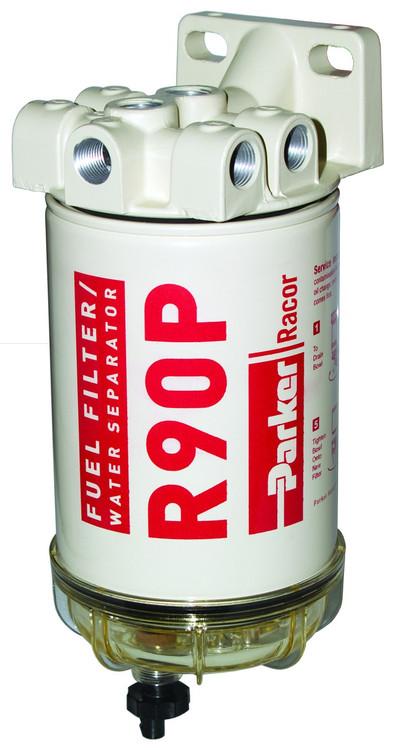 Racor 690R30 Diesel Fuel Filter/Water Separator 30 Micron 90 GPH 3/8-18 NPTF