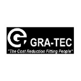 Gra-Tec 201C2N Coupling Body Female 1/8 Inch Flow X 1/8 NPT Chrome-plated Brass