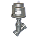Parker Skinner PA20SAN5S050A 2-way Angle Body Normally Closed Seat Valve 3/4 Inch 145 PSI Stainless Steel