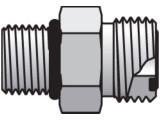 Parker 12-8 F5OLO-S Seal-Lok Male Adapter 3/4 ORFS X 8 SAE-ORB Steel