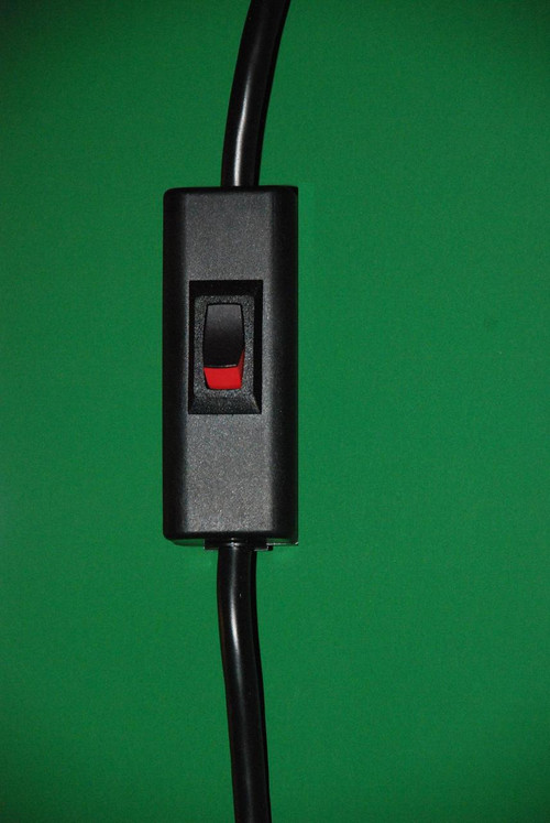 Kord King ALAA896 Power Cord With Rocker Switch 10 FT Black