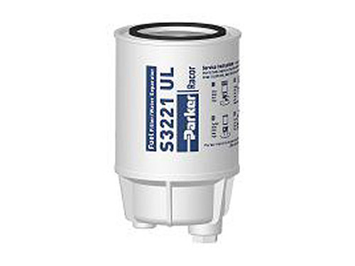 Racor B32021MAM Aquabloc® OEM Gasoline Spin-on Filter 10 Micron 60 GPH 1-12 center threads