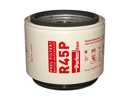 Racor R45P Aquabloc® Diesel Replacement Spin-on Filter Element 30 Micron