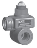 Parker RPJL-12-A In-line Mounted Pilot Operated Relief Valve SAE-12 Cast Iron
