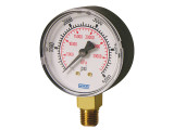 Wika 8990616 Commercial General Purpose Dry Pressure Gauge Model 111.10 2-1/2 Dial 300PSI/KPA 1/4 NPT Lower Mount Black Plastic Case