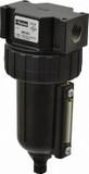 Parker 06F34AC Compact Filter 1/2 NPT Zinc Bowl Sight Gauge Twist Drain