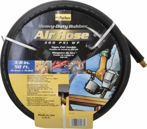 Parker 7093383-KAA Heavy Duty Rubber Air Hose Assembly