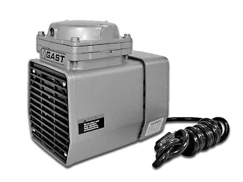 GAST DOA-P518-FD Oilless Diaphragm Vacuum Pump 1/3 HP 3000 RPM
