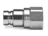Parker FEM-752-12FP Hydraulic Non-Spill Nipple 3/4 NPSF Female Steel