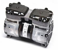 Gast 87R642-101R-N470X Twin Cylinder Vacuum Pump and Compressor 1/2 HP