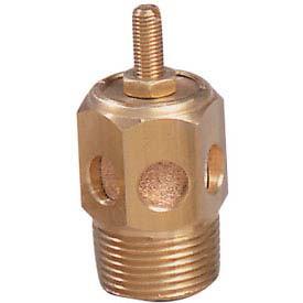 Arrow ASP-1SC Pneumatic Speed Control Muffler 1/8 NPT 40 Micron Sintered Bronze 300 PSI