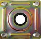 LDI Vescor 5103 Suction Return Flange Kit 1-1/4 Pipe Zinc-plated Carbon Steel