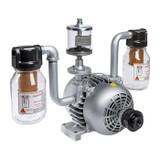 Gast 2065-V2A Rotary Vane Air Compressor / Vacuum Pump 1 HP 14 CFM-50HZ 17 CFM-60HZ 28 IN-HG