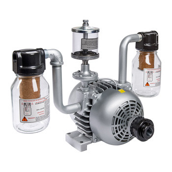 Gast 2565-V2A Rotary Vane Vacuum Pump 1-1/2 HP 16.5 CFM-50HZ 21 CFM-60HZ 28 IN-HG