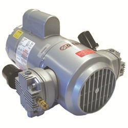 Gast 5HCD-10-M550NGX Piston Air Compressor 3/4 HP 4.7 CFM-50HZ 4.7 CFM-60HZ