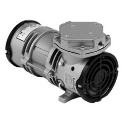 Gast MOA-V112-AE Diaphragm Air Compressor / Vacuum Pump .125 HP .65 CFM-50HZ .80 CFM-60HZ 24 IN-HG