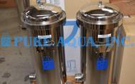 Boîtier de Filtre à Cartouche en Acier Inoxydable 10 x 100000 GPD - Pérou