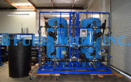 Adoucisseur d'Eau Alternatif Commercial Système Double pour l'Eau Potable 100 GPM - États-Unis