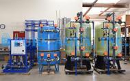 Système d'Eau Déionisée à Double lit 140 GPM pour le Traitement de l'Eau des Chaudières - Papouasie-Nouvelle-Guinée