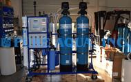 Système d'Osmose Inverse et Système d'Échange d'Ions Désionisant 4500 GPD - El Salvador