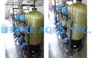 Filtres Alternatifs à Sables Verts Jumelés Conteneurisés Avec Composants NSF pour la Réduction du Fer - 60 GPM - États-Unis