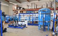 Système d'Inversion Industrielle Osmose pour le Bien Traitement de l'Eau pour l'Agriculture - Qatar