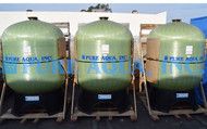 Filtre Exploité Activé à Charbon pour les Boissons 3 X 175 GPM - Arabie Saoudite