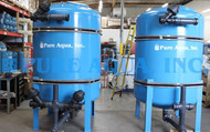 Filtres à charbon actif 2x120 GPM Algérie