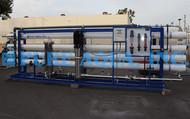 Système d'osmose inverse eau saumâtre 173,000 LPJ - Algérie