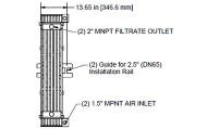 Membrane HYDRAsub HSM125-ES