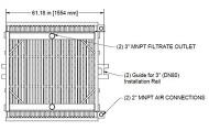 Membrane HYDRAsub HSM750-ES