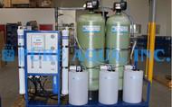 Monté sur Palette de l'eau du Robinet Système d'Osmose Inverse 15000 GPD - Algérie