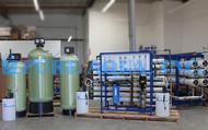 Système de Traitement d'eau 24000 de GPD - Ghana