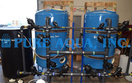 Système de Filtration Commercial pour le Bâtiment Hôpital 160 GPM - Jordanie
