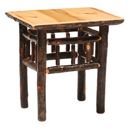 FL84010 Hickory End Table/TV Stand
