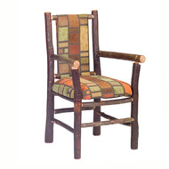FL86040 Hickory Upholstered Back Arm Chair