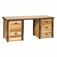 FL87200 Hickory Executive Desk