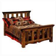 FLB10102 Barnwood Post Bed