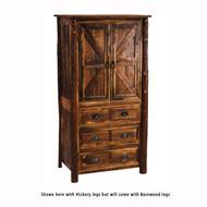 FLB12091-P Barnwood Three Drawer Armoire