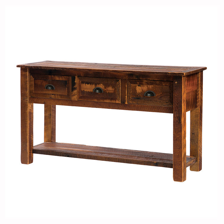 Pleasant Flb14140 Barnwood Console Table Alphanode Cool Chair Designs And Ideas Alphanodeonline