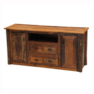 FLB14251 Barnwood Widescreen TV Stand